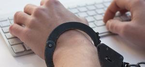 Vanessa Van Dyne icon handcuffed hands