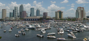 john rymer icon tampa skyline with boats