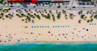 South Florida Real Estate Update icon beach aerial