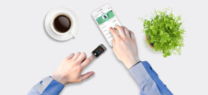 Joan and Peter Cohn icon blood pressure smartphone