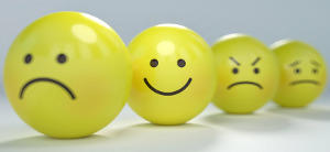 How to Beat the Holiday Blues row of smileys